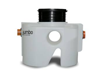235mm Riser for Jumbo Grease Trap